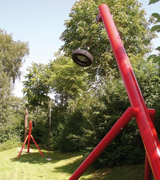 espas Stahl-Seilbahn 1 Länge 20m