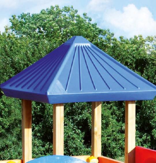 espas Dach groß