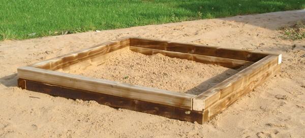 espas Sandkasten 2 x 2m
