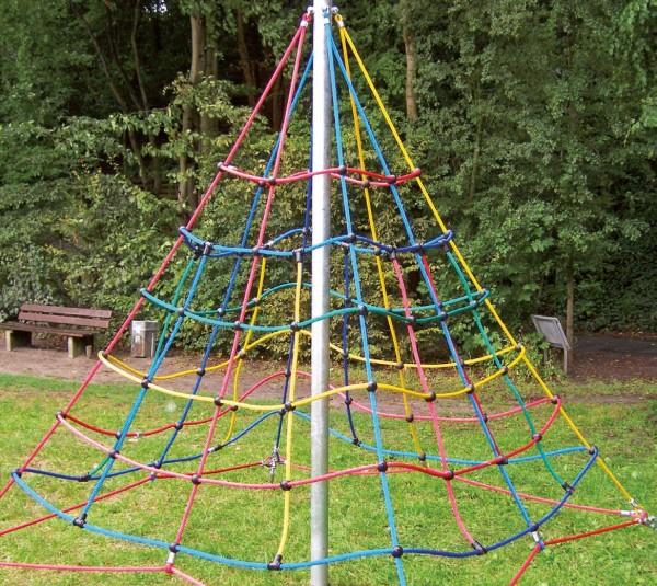 espas Kletterpyramide 300 inkl. Bodenanker
